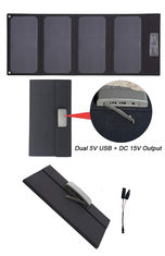 Convenient Foldable Solar Panel Charger Solar Powered Laptop Charger